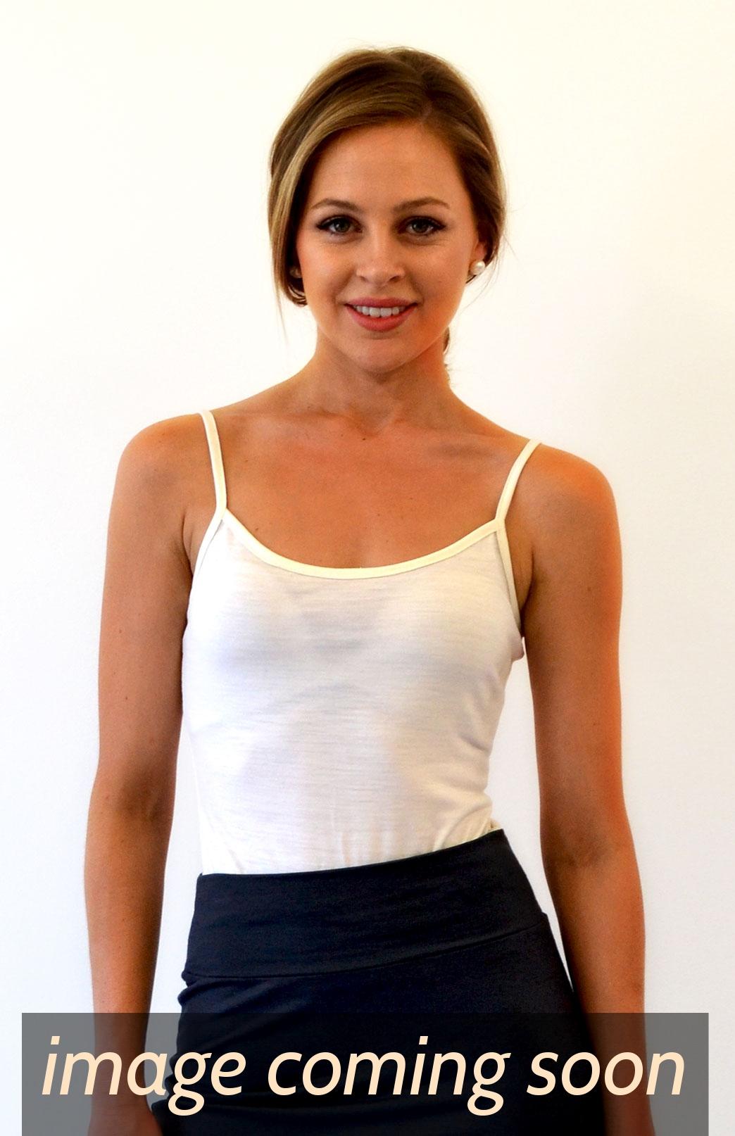 Camisole Top - Women's Wool Cream Camisole Layering Thermal Tank Top - Smitten Merino Tasmania Australia