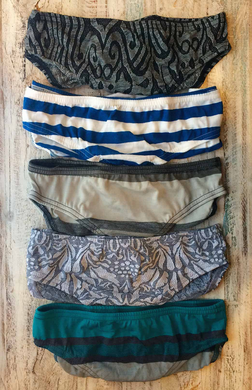 Smitten Knickers (Pack of Three) - Women's Superfine Merino Wool Underwear - Smitten Merino Tasmania Australia