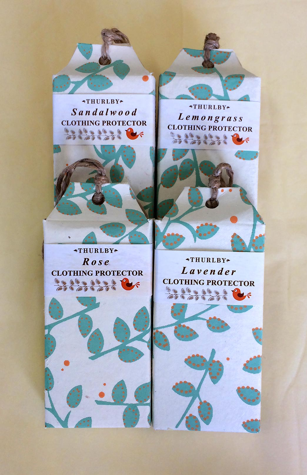 Herbal Clothing Protector - Smitten Merino Tasmania Australia