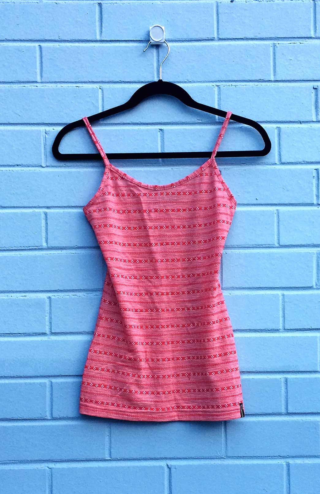 Camisole Top - Women's Wool Patterned Camisole Layering Thermal Tank Top - Smitten Merino Tasmania Australia