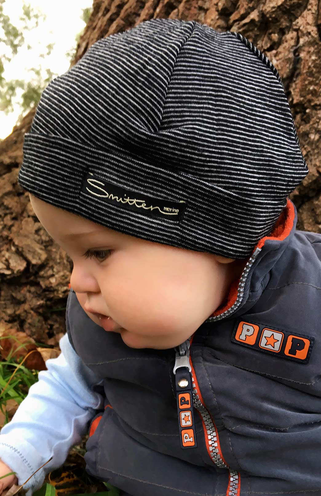 Baby Beanie - Maternity, Newborn & Baby Merino Wool Beanie - Smitten Merino Tasmania Australia