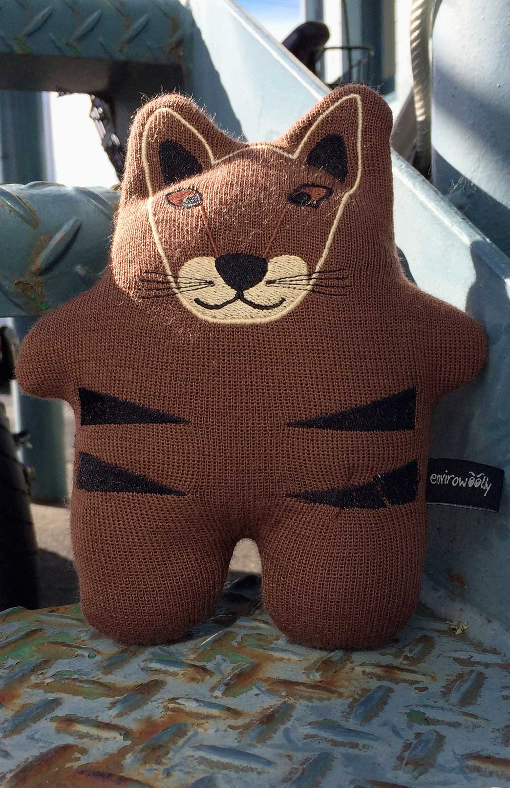 Envirowoolly - Children's Merino Wool Tasmanian Devil Soft Plush Toy - Smitten Merino Tasmania Australia