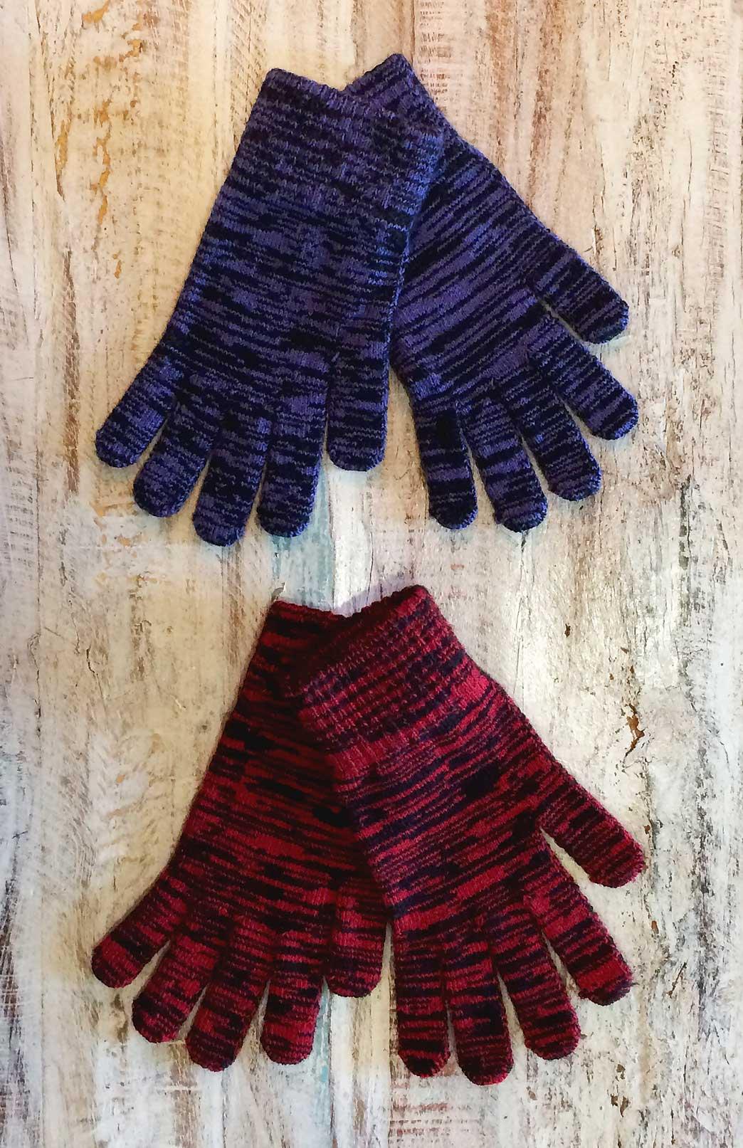Merino Wool Gloves - Merino Wool Thermal Full Finger Gloves - Smitten Merino Tasmania Australia