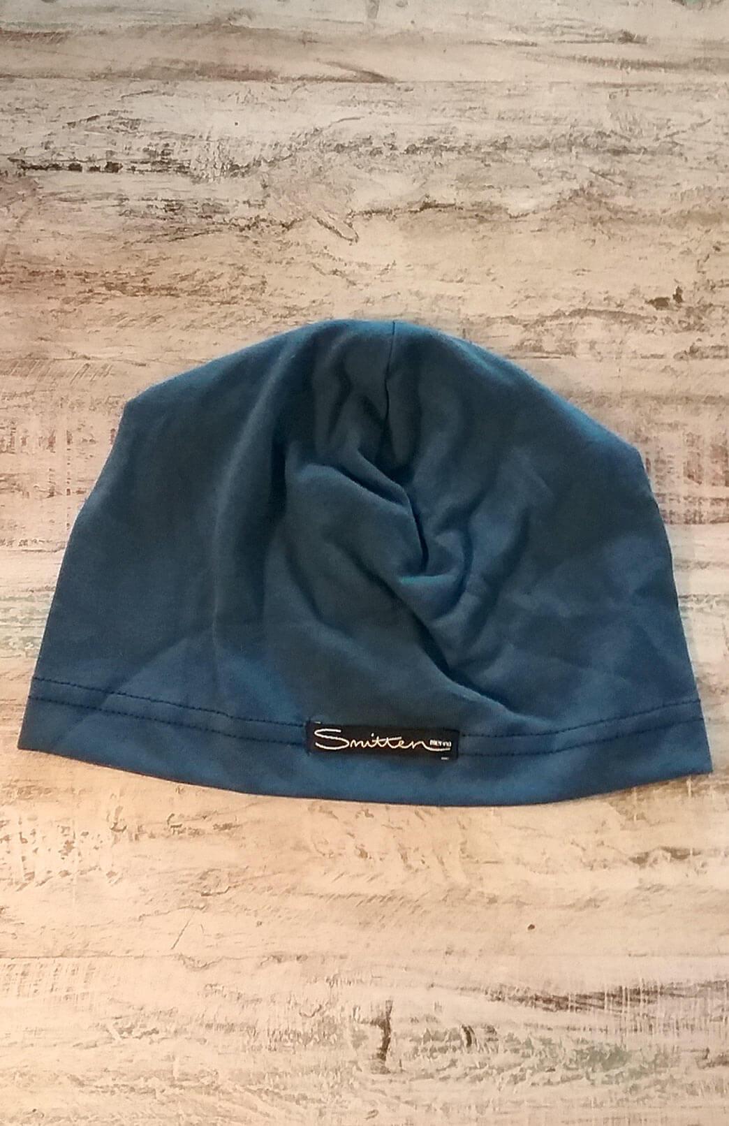 Lightweight Beanie - Lightweight Superfine Activewear and Fashion Beanie - Organic Cotton - Smitten Merino Tasmania Australia