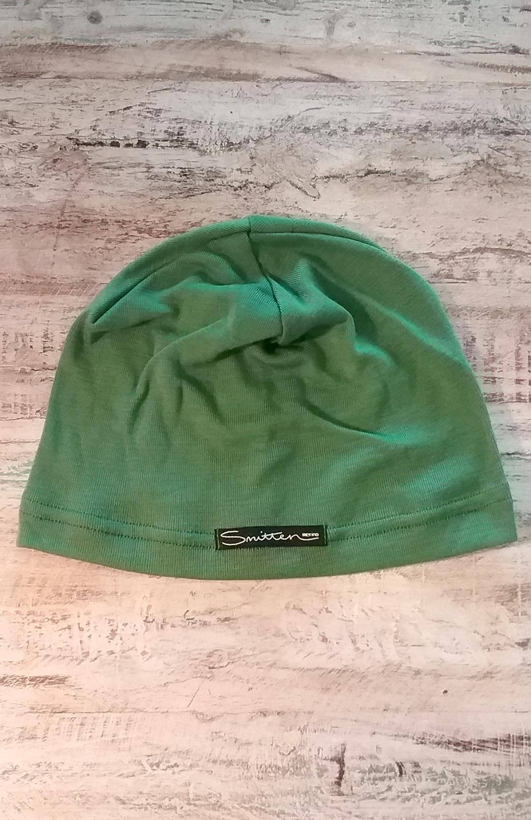 Mid-Weight Beanie (~200g) - Green Mid-Weight Merino Wool Unisex Beanie for everyday use - Smitten Merino Tasmania Australia