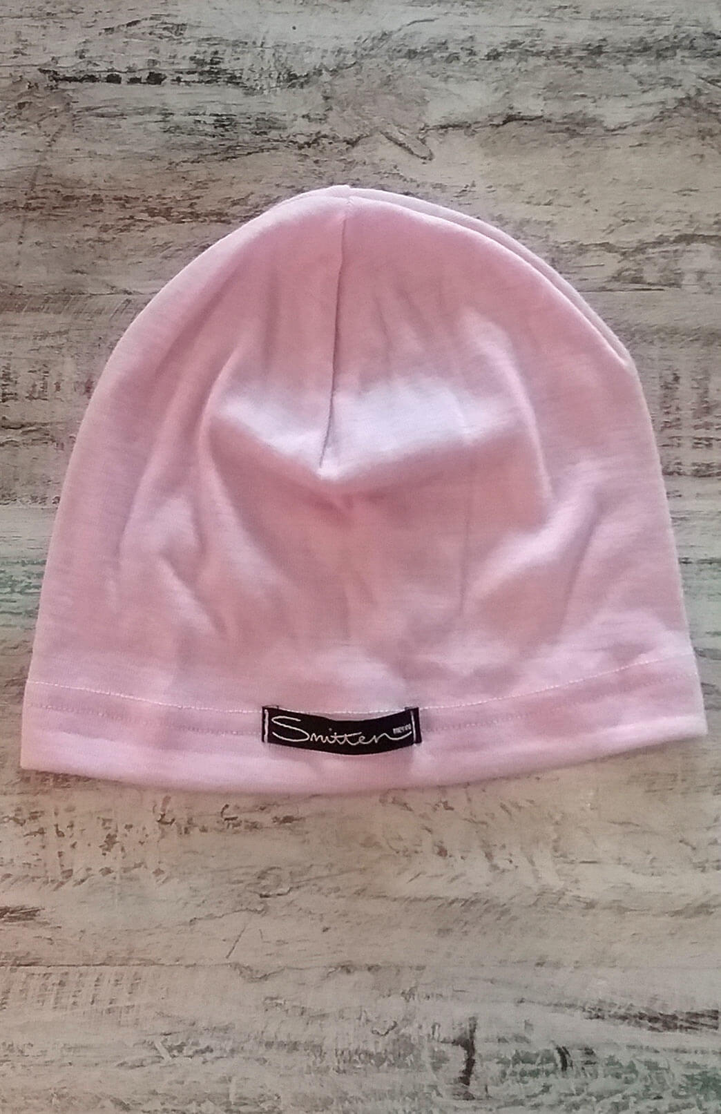 Mid-Weight Beanie (~200g) - Soft Pink Mid-Weight Merino Wool Unisex Beanie for everyday use - Smitten Merino Tasmania Australia