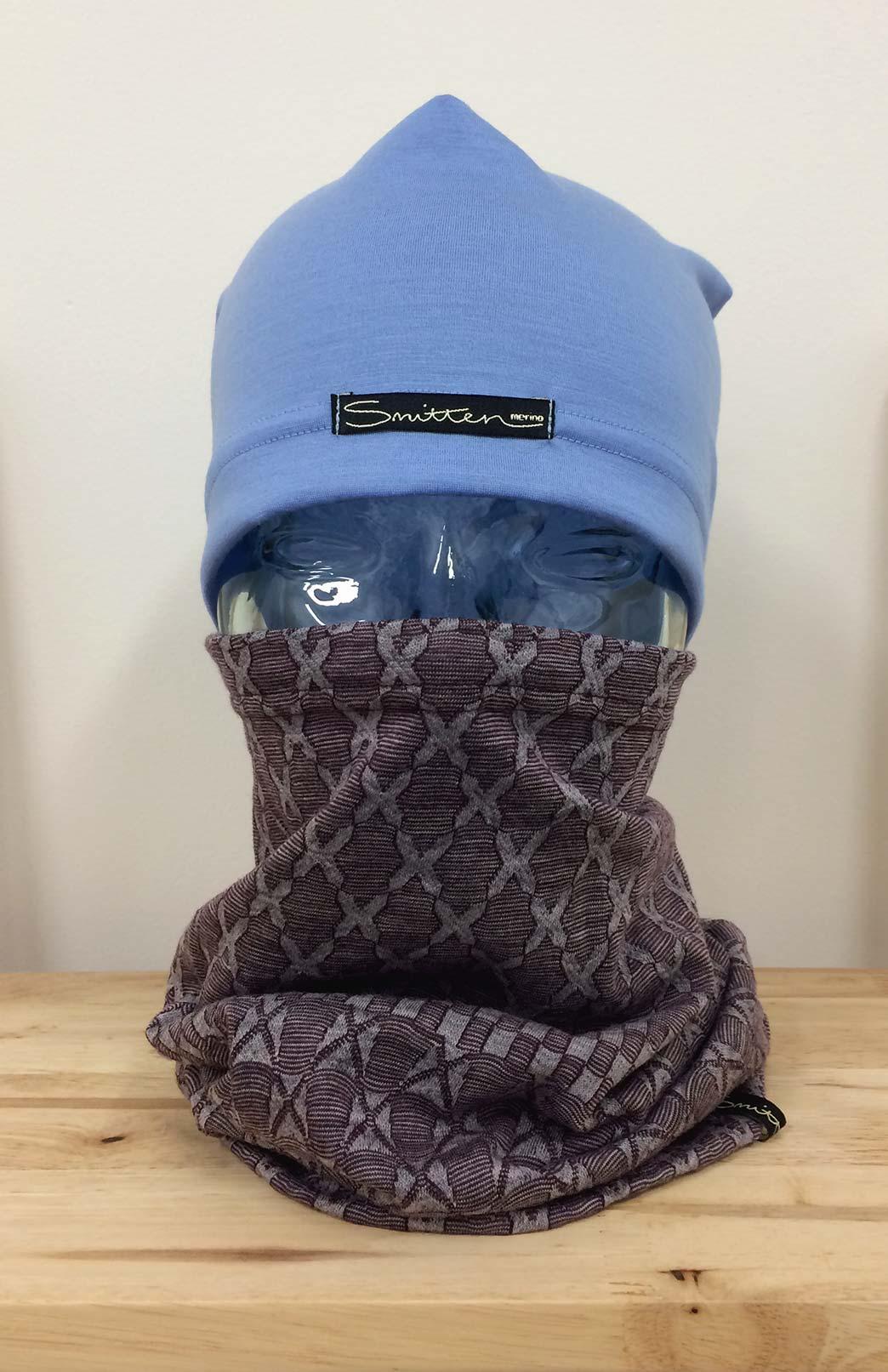 Thermal Neck Warmer - Merino Wool Multi Purpose Thermal Neck Warmer, Snood, Buff - Smitten Merino Tasmania Australia