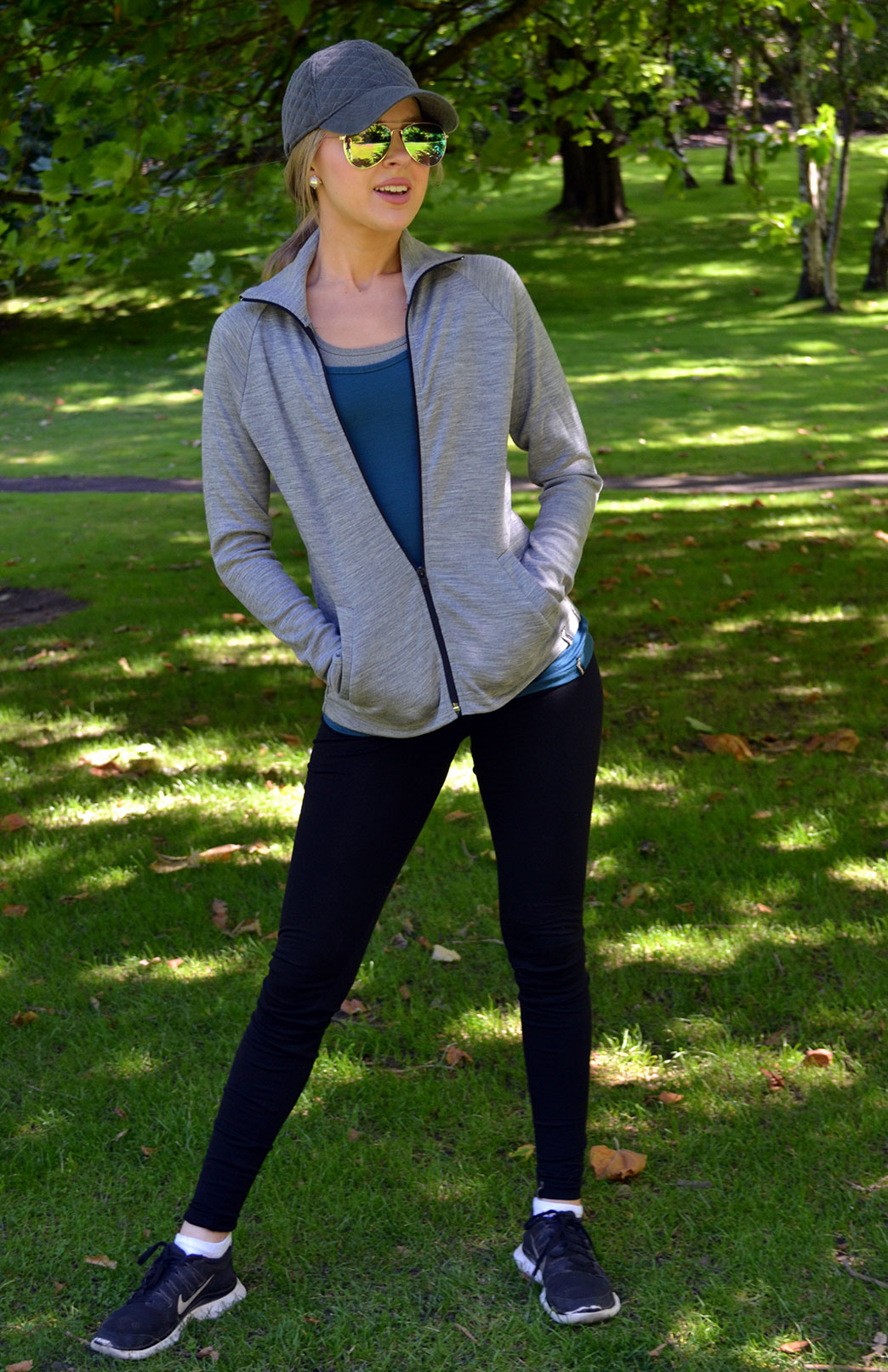 Leggings - 360g - Women's Black Heavyweight Wool Leggings with elastic waistband - Smitten Merino Tasmania Australia