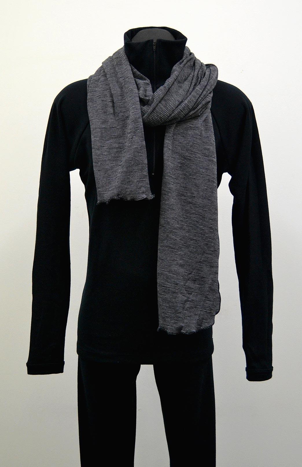 Men's Wide Merino Scarf - Men's 100% Merino Wool Wide Scarf - Smitten Merino Tasmania Australia