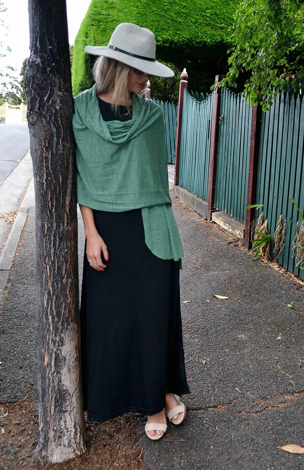 cd494428d3825 Scarves - Lightweight - Women s Superfine Merino Wool   Modal Blend Classic  Wide Scarf - Smitten