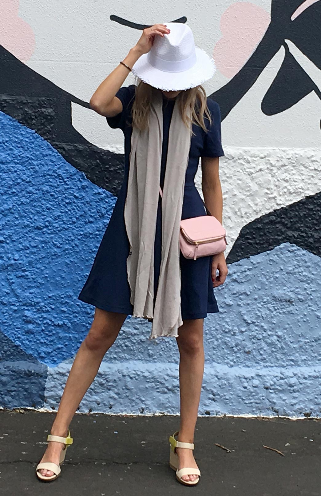 Scarves - Plain - Women's Superfine Merino Wool Classic Wide Scarf - Smitten Merino Tasmania Australia