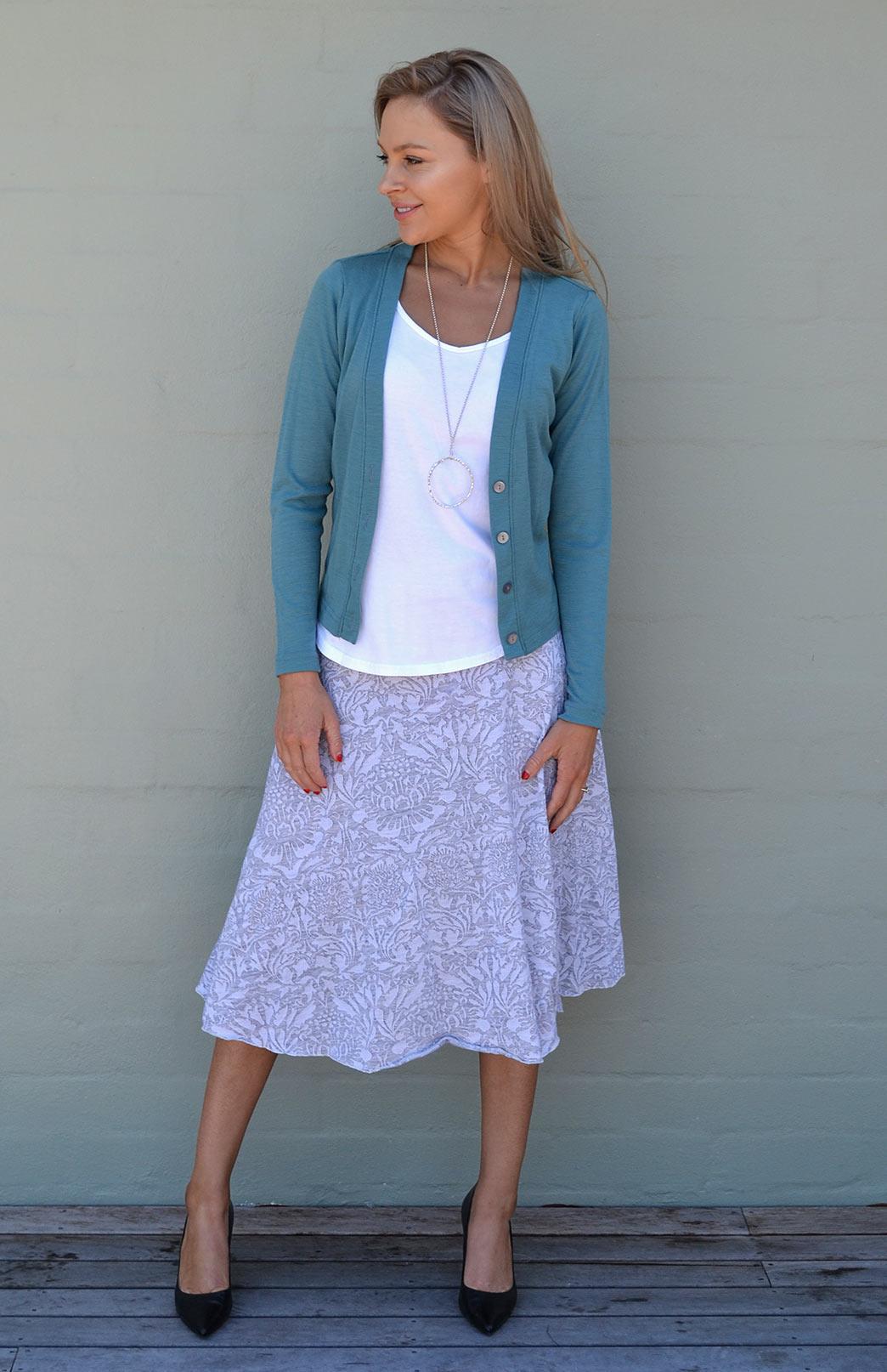 Twirl Skirt - Smitten Merino Tasmania Australia