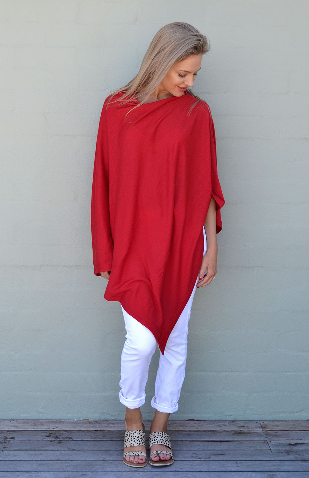Oversized Wool Poncho Women S Oversized Red Wool Poncho