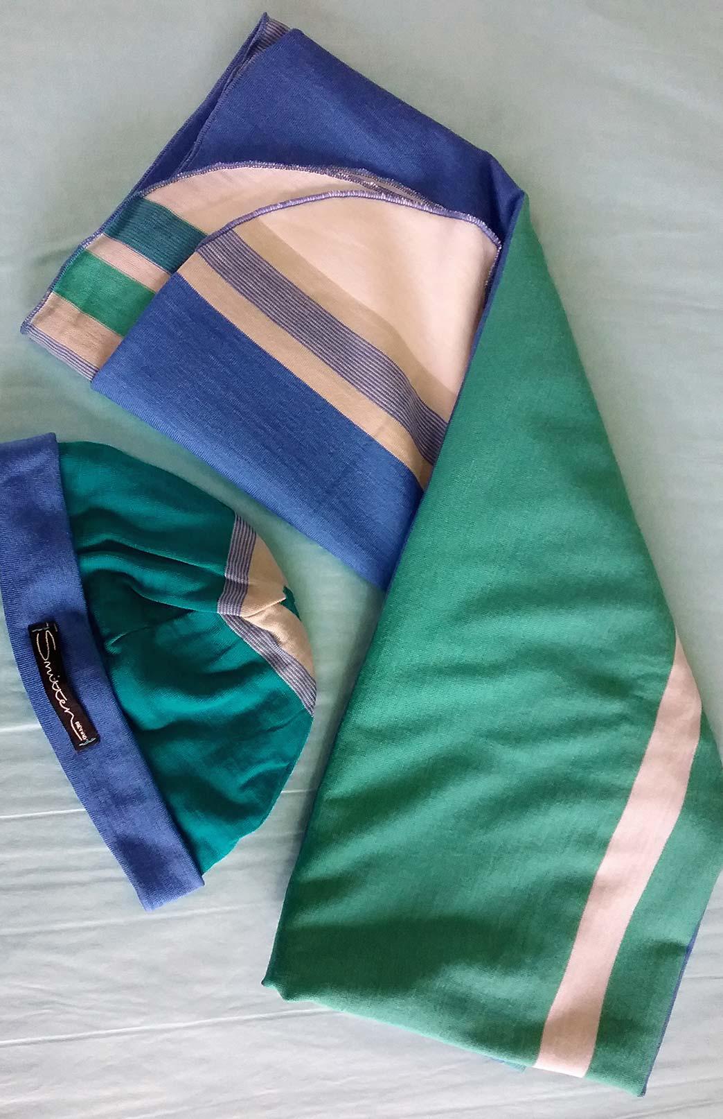 Baby Wrap and Beanie Set - Merino Wool Baby Wrap Blanket and Beanie Gift Set - Smitten Merino Tasmania Australia