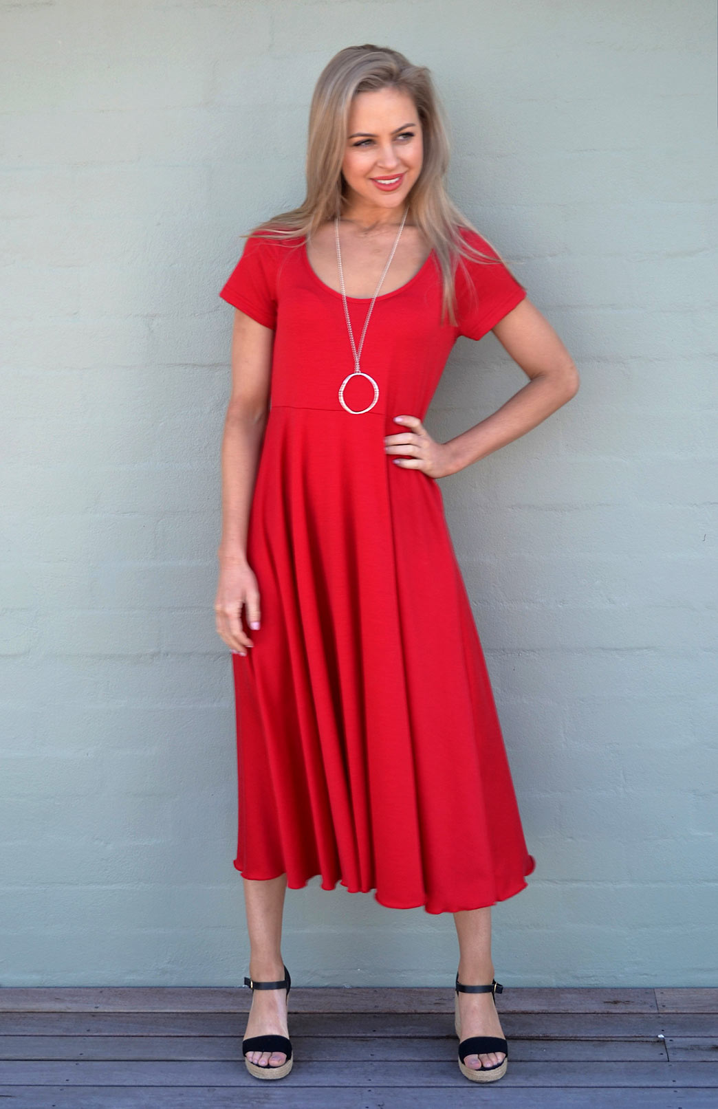 Carrie Dress in Flame