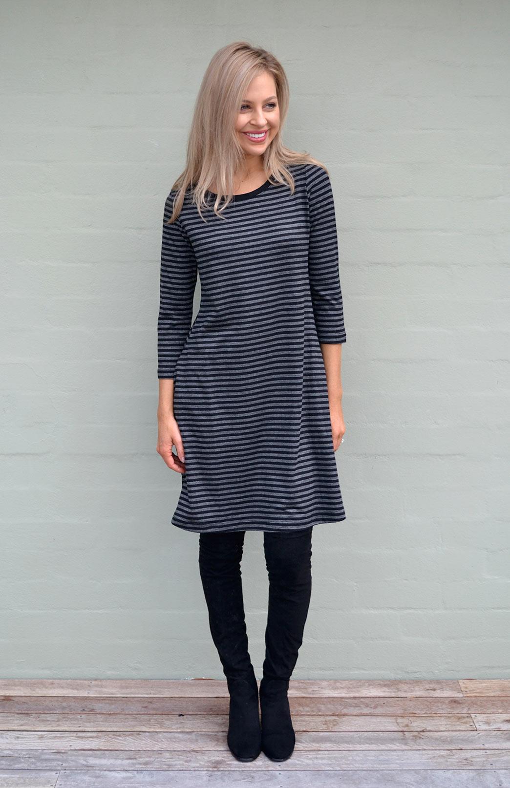 Ellie Dress - Smitten Merino Tasmania Australia