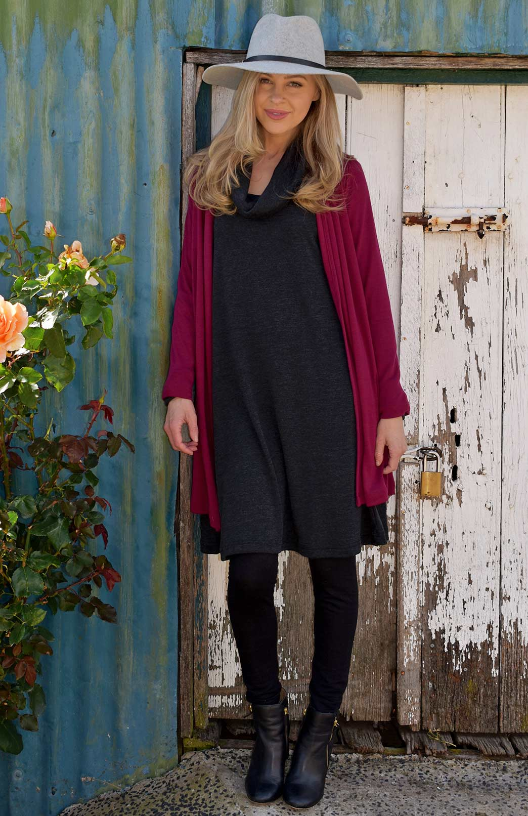 99cfafafe420 Winter Dresses and Wool Knits for Women | Smitten Merino Tasmania ...