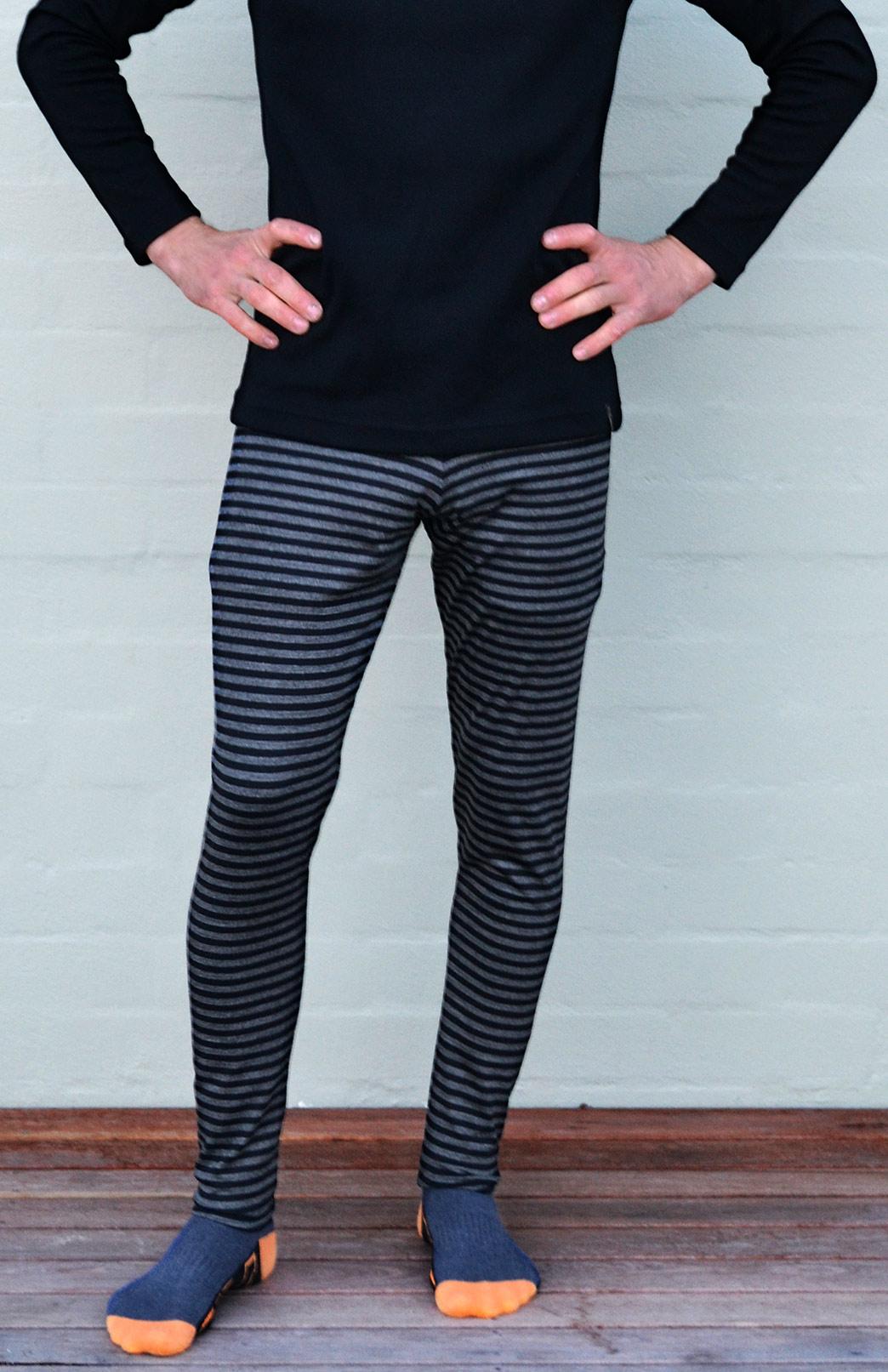 Mens Leggings - 220g - Men's Active and Outdoor Sportswear Thermal Baselayer Leggings - Smitten Merino Tasmania Australia