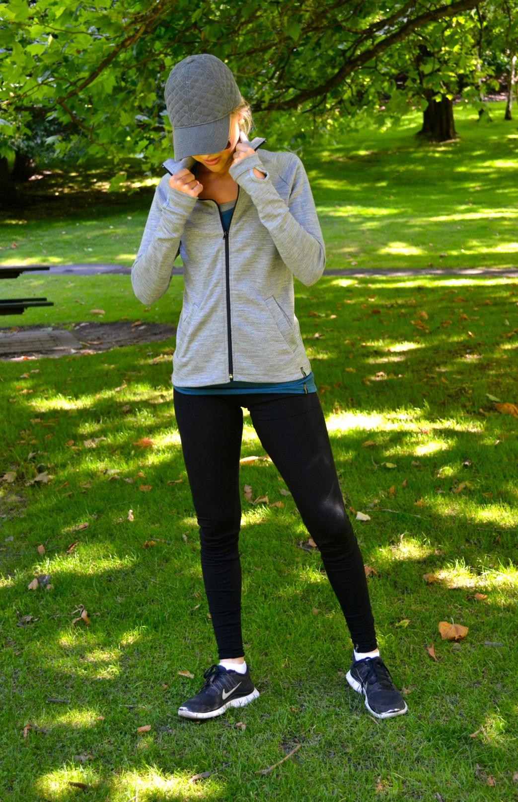 Women's Zip Jacket - Collar - Smitten Merino Tasmania Australia