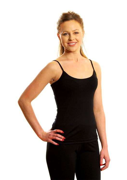 Black Camisole Top (Size 10)