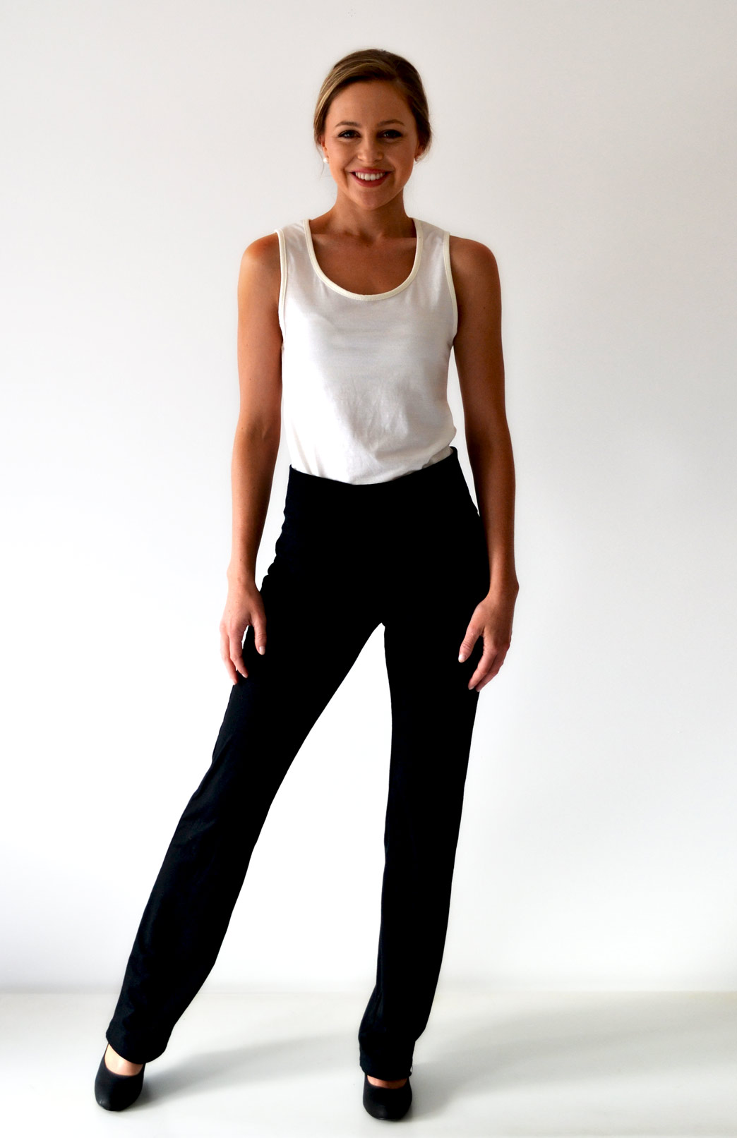 Straight Leg Pants - Smitten Merino Tasmania Australia