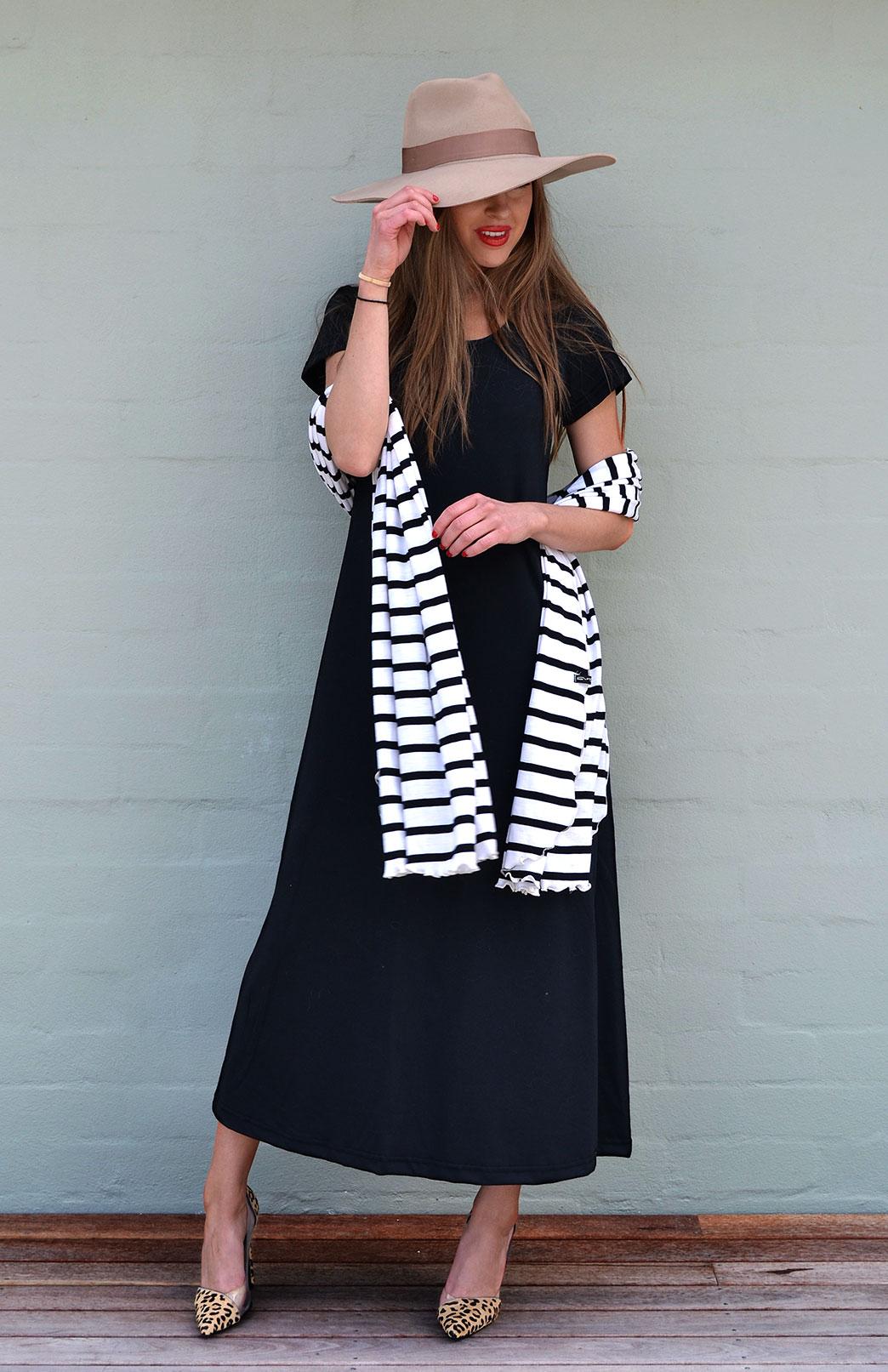 Organic Cotton T Shirt Dress Women S Black Organic