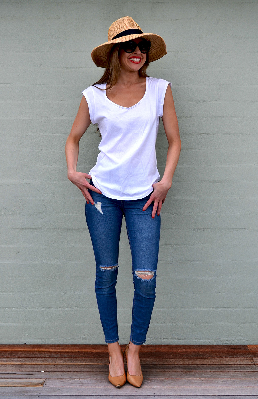 Cotton Cap Sleeve T Shirt Women S White Organic Cotton