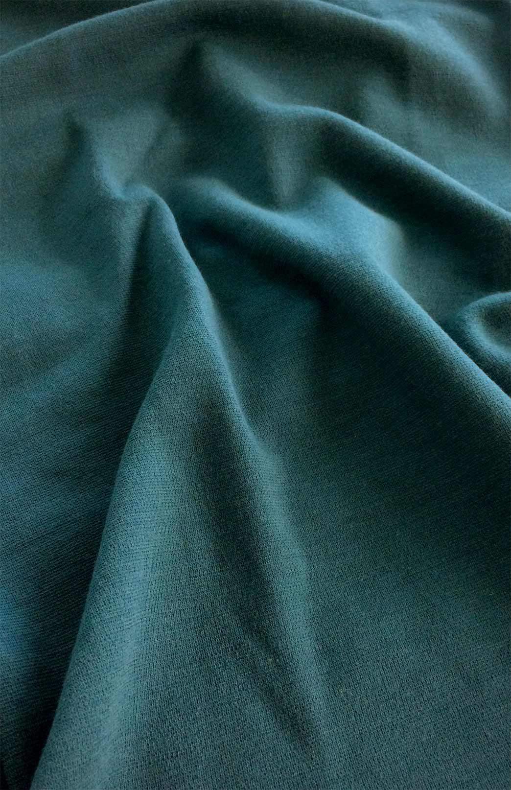 Missi Dress - Women's Teal Merino Wool Ponte Dress with Full Back Zip and High Neckline - Smitten Merino Tasmania Australia