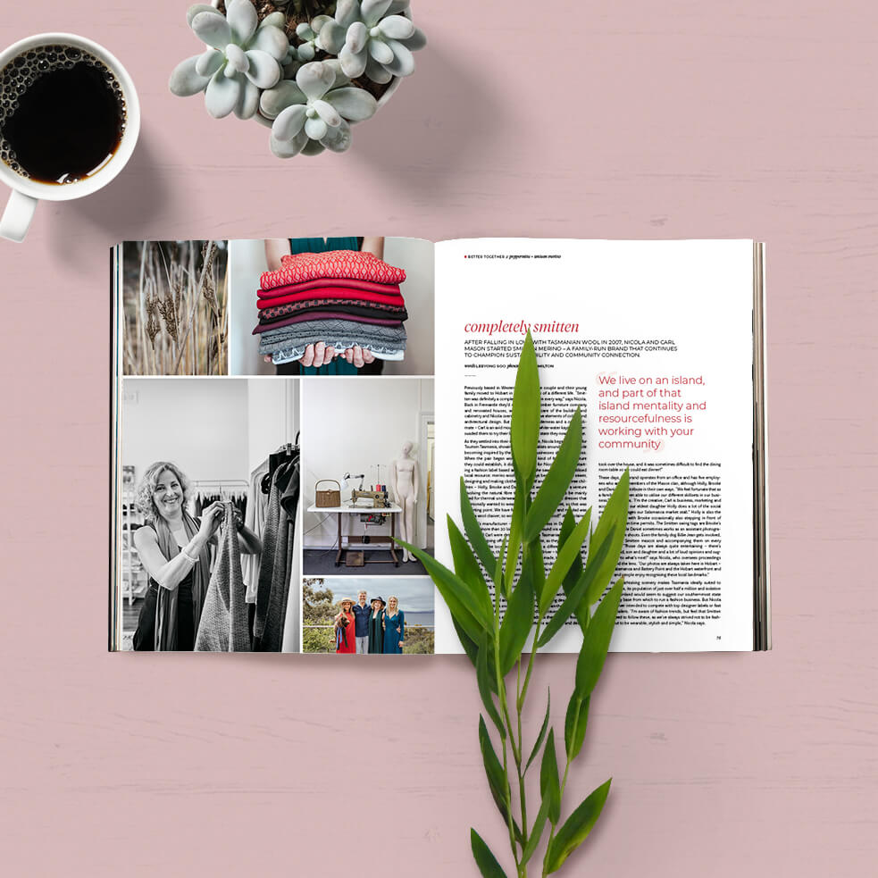 Peppermint Magazine #41 Smitten Feature
